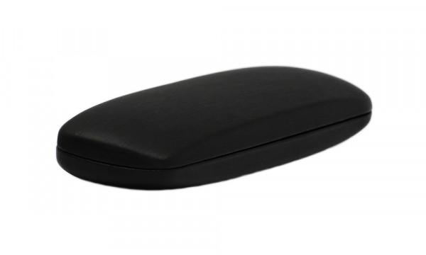 einfaches Klappetui - schwarz