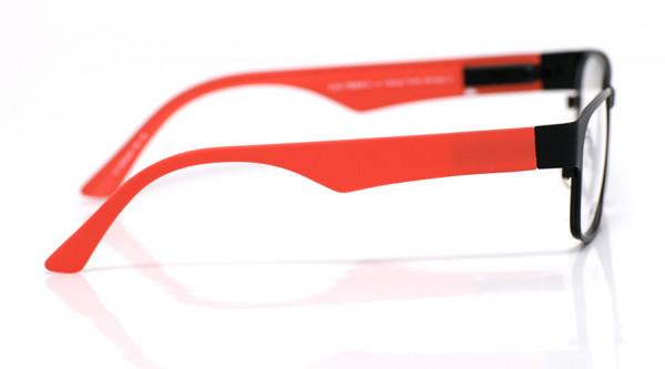 eye:max Wechselbügel 5606.06 Kunststoff rot matt 135mm