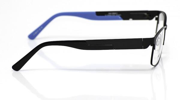 eye:max Wechselbügel 5647.07 Kunststoff schwarz/blau 140mm