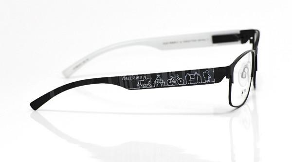 eye:max Wechselbügel 5815.01 Kunststoff Westfalen schwarz 138mm