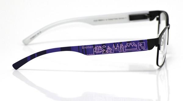 eye:max Wechselbügel 5835.01 Kunststoff Bremen lila 138mm