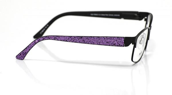 eye:max Wechselbügel 5662.06 Kunststoff Glitter/Glitzer lila 135mm