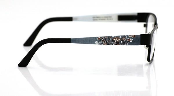 eye:max Wechselbügel 5424.021 Kunststoff Jeans Blumen 135mm