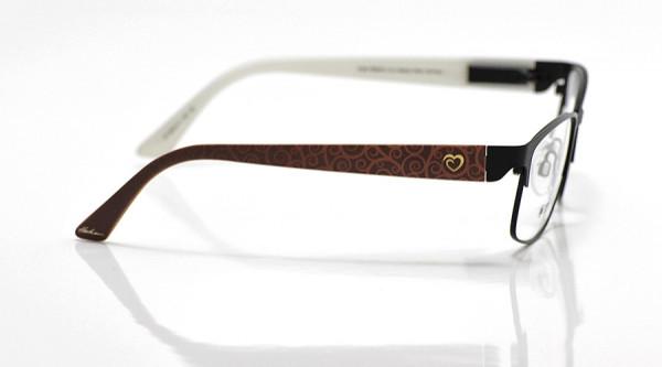 eye:max Wechselbügel 5670.11 Kunststoff Curly Rot 135mm