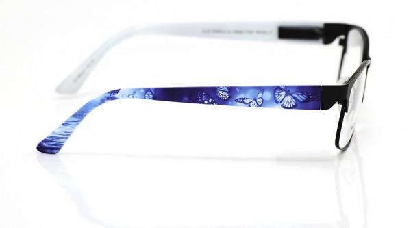 eye:max Wechselbügel 5642.07 Kunststoff Schmetterling blau 135mm