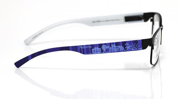eye:max Wechselbügel 5874.02 Kunststoff Mallorca blau 138mm