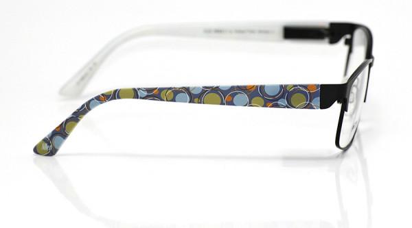 eye:max Wechselbügel 5866.02 Kunststoff Kringelkreise 60er blau grün 135mm