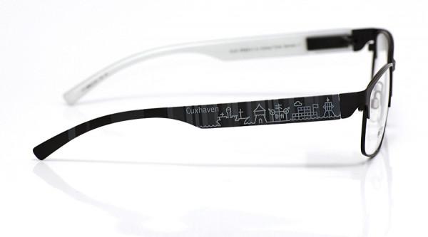 eye:max Wechselbügel 5896.0124 Kunststoff Cuxhaven schwarz 138mm