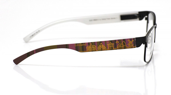 eye:max Wechselbügel 5881.07 Kunststoff Emsland braun lila 138mm