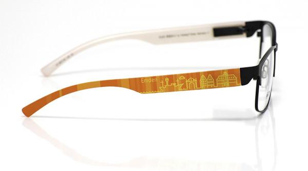 eye:max Wechselbügel 5877.03 Kunststoff Emden orange 138mm