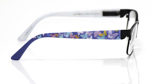 eye:max Wechselbügel 5693.20 Kunststoff Schmetterlinge pastell blau 135mm