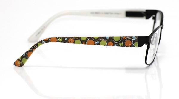 eye:max Wechselbügel 5866.01 Kunststoff Kringelkreise 60er orange grün 135mm