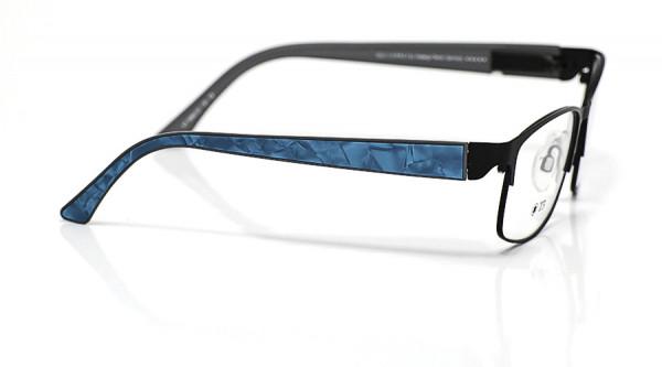eye:max Wechselbügel 5660.03 Kunststoff Acetat Applikat. petrol 135mm