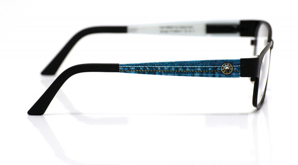 eye:max Wechselbügel 5806.011 Kunststoff Jeans m.Niete blau 135mm