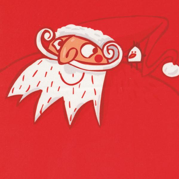 Microfasertuch mit Motiv Weihnachtsmann