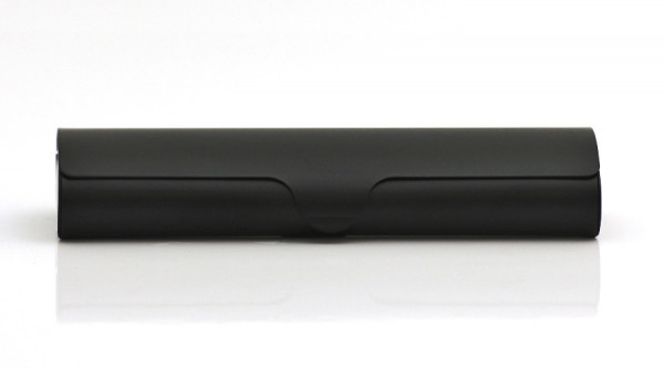 Aluminiumetui - schwarz- groß