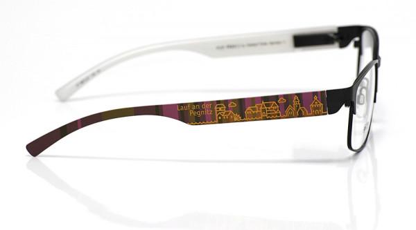 eye:max Wechselbügel 5873.07 Kunststoff Lauf braun lila 138mm