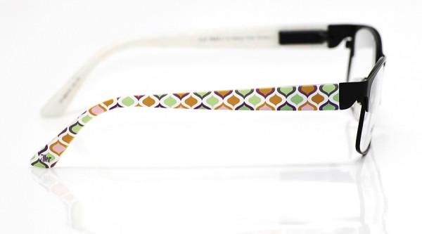 eye:max Wechselbügel 5840.02 Kunststoff Zwiebelmuster 70er orange grün 135mm