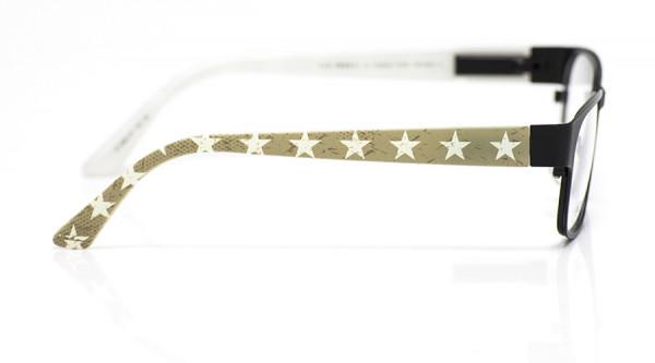 eye:max Wechselbügel 5891.07 Kunststoff Sterne groß hellbraun 135mm