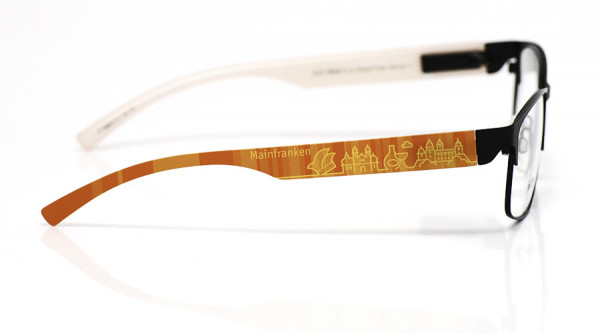 eye:max Wechselbügel 5896.0113 Kunststoff Mainfranken orange 138mm