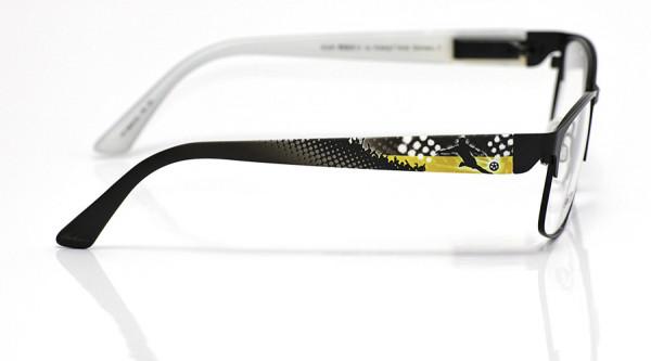 eye:max Wechselbügel 5829.02 Kunststoff Fußball schwarz gelb 135mm
