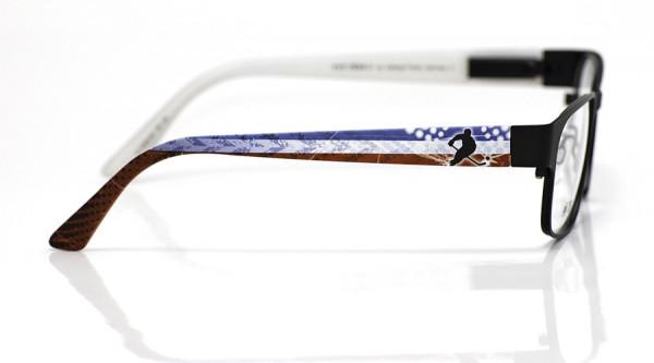 eye:max Wechselbügel 5558.08 Kunststoff Eishockey Spieler blau weiß rot 135mm