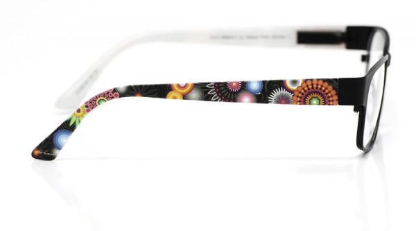 eye:max Wechselbügel 5573.05 Kunststoff Blumen schwarz 135mm