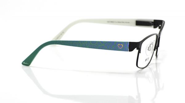 eye:max Wechselbügel 5670.10 Kunststoff Curly+Herz grün 135mm