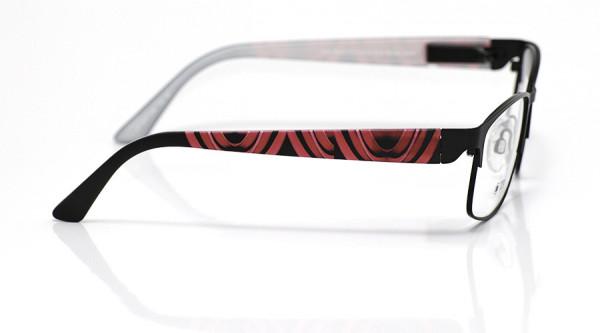 eye:max Wechselbügel 5701.258 Kunststoff rot schwarz 135mm
