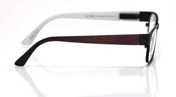 eye:max Wechselbügel 5824.10 Kunststoff Ethno geometrisch brombeer 135mm