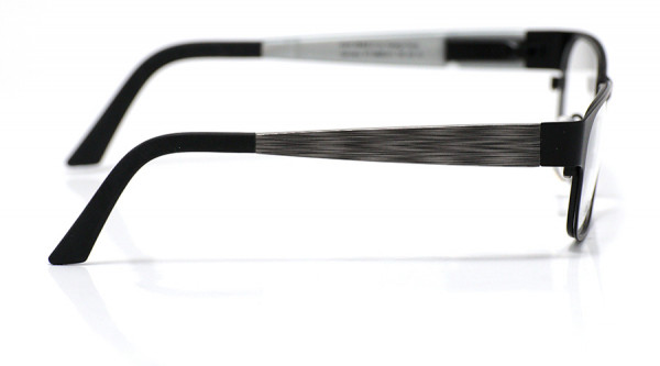 eye:max Wechselbügel 5888.011 Kunststoff brushed schwarz 135mm