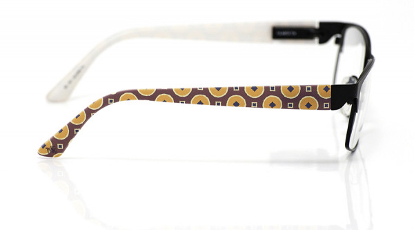 eye:max Wechselbügel 5852.02 Kunststoff Kreiswürfel 50er weinrot orange 135mm