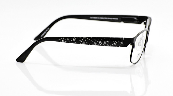 eye:max Wechselbügel 5633.08 Kunststoff Sterne schwarz 135mm