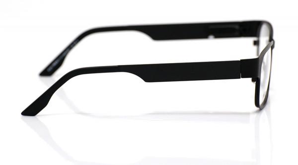 eye:max Wechselbügel 5428.0001 Edelstahl black tie matt 135mm