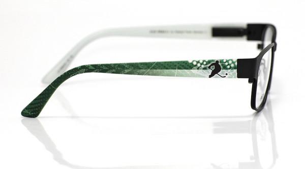 eye:max Wechselbügel 5558.05 Kunststoff Eishockey Spieler grün weiß 135mm