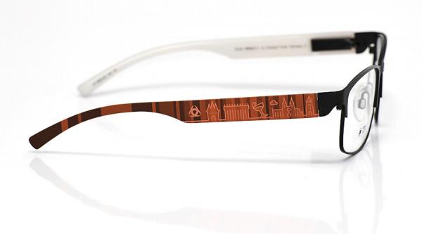 eye:max Wechselbügel 5832.06 Kunststoff rot 138mm