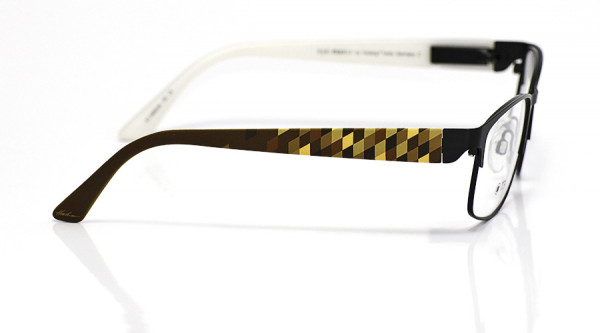 eye:max Wechselbügel 5696.04 Kunststoff Raute braun 135mm