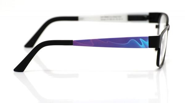 eye:max Wechselbügel 5461.03 Kunststoff Wellen blau, lila 135mm