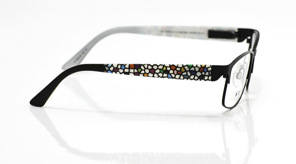 eye:max Wechselbügel 5630.05 Kunststoff Mosaik schwarz 135mm