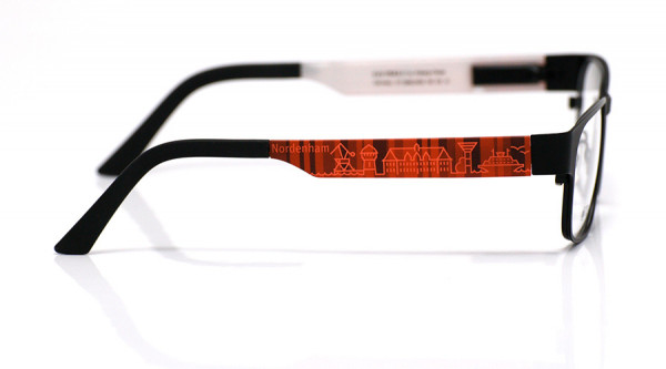 eye:max Wechselbügel 5896.0458 Kunststoff Nordenham bordeaux 140mm