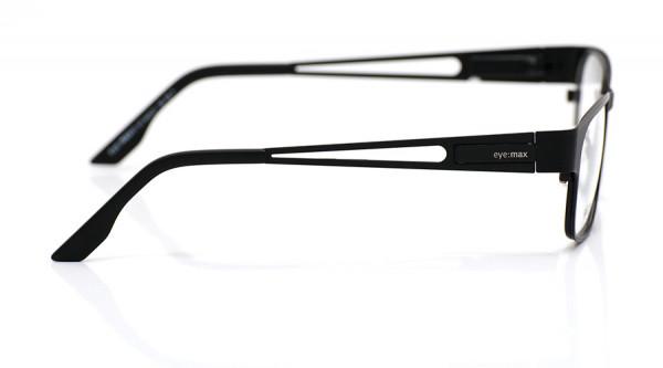 eye:max Wechselbügel 5435.21 Edelstahl black tie matt, schwarz 135mm