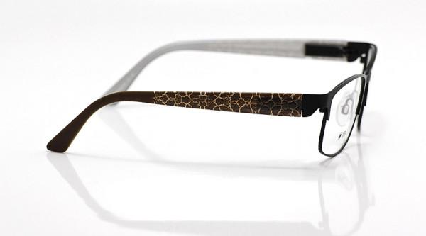 eye:max Wechselbügel 5630.02 Kunststoff Schlangenmuster braun 135mm