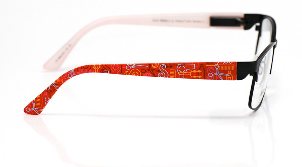 eye:max Wechselbügel 5882.002 Kunststoff Frisör rot 135mm