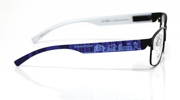 eye:max Wechselbügel 5896.0132 Kunststoff Bremerhaven blau 138mm