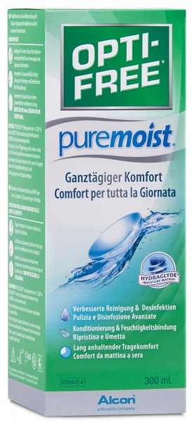 Optifree Pure Moist - Einzelflasche 300ml