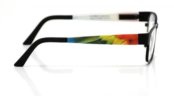 eye:max Wechselbügel 5438.051 Kunststoff Papagei Federn 135mm
