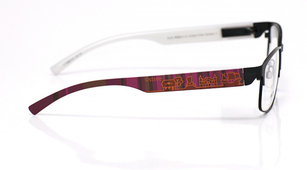 eye:max Wechselbügel 5896.0147 Kunststoff Ostsee braun lila 138mm