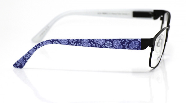 eye:max Wechselbügel 5674.05 Kunststoff Paisley blau 135mm