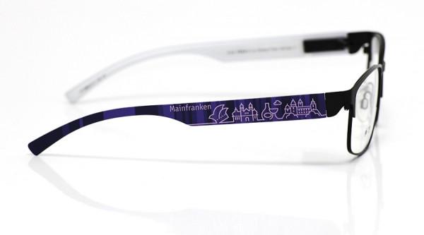 eye:max Wechselbügel 5896.0111 Kunststoff Mainfranken lila 138mm