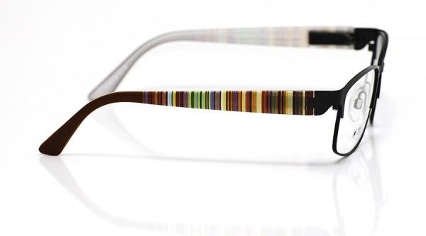 eye:max Wechselbügel 5701.368 Kunststoff Streifen braun 135mm